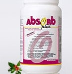 Why is my stool pink after drinking the Mixed Berry flavor Absorb Plus?