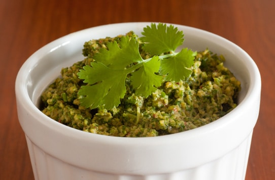 Chlorophyll and Cilantro Pesto Heavy Metal Detox