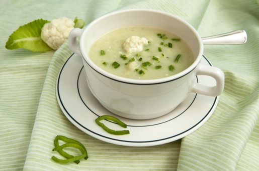 Creamy Cauliflower Leek Soup – Dairy-Free