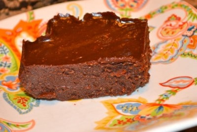 Chocolate Cashew Butter Fudge (Dairy-Free)