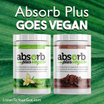 Finally we have the NEW Absorb Plus Vegan Formula in Stock
