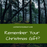 Remember Your Xmas Holiday Season Gift?